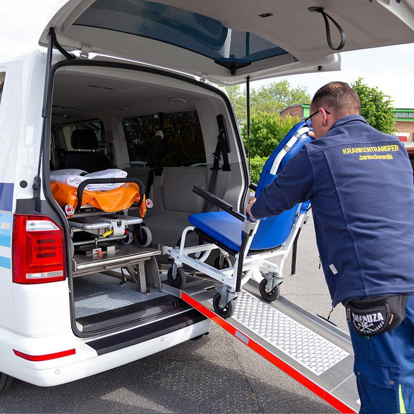 Krankentransfer-Janischewski - Krankenfahrten sitzend